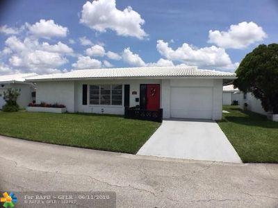 Tamarac Single Family Home Backup Contract-Call LA: 8104 NW 59th Ct