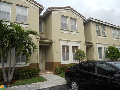 Miramar Condo/Townhouse Backup Contract-Call LA: 15687 SW 41st St #180