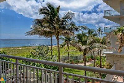 Pompano Beach Condo/Townhouse For Sale: 710 N Ocean Blvd #210