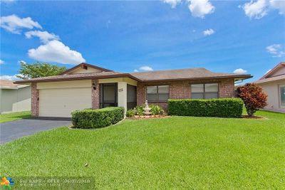 Tamarac Single Family Home Backup Contract-Call LA: 9610 NW 83rd St