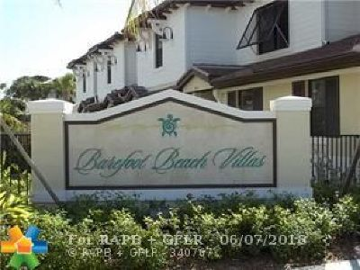Pompano Beach Condo/Townhouse For Sale: 869 S Ocean Blvd #869