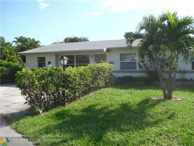 Deerfield Beach Single Family Home For Sale: 1430 SW 3rd Ter