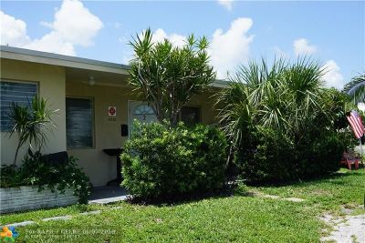 Pompano Beach Multi Family Home For Sale: 2520 NE 12th St