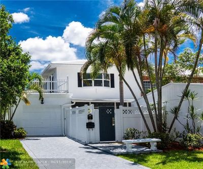 Wilton Manors Condo/Townhouse For Sale: 2 Heathcote Rd #-