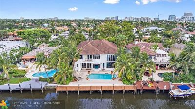 Fort Lauderdale Rental For Rent: 2600 Castilla Isle