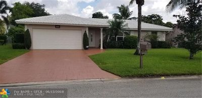 Coral Springs Single Family Home For Sale: 12135 NW 32nd Pl