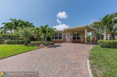 Pompano Beach Single Family Home For Sale: 160 SE 12th