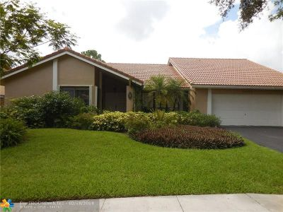 Plantation Single Family Home For Sale: 10070 NW 14th St