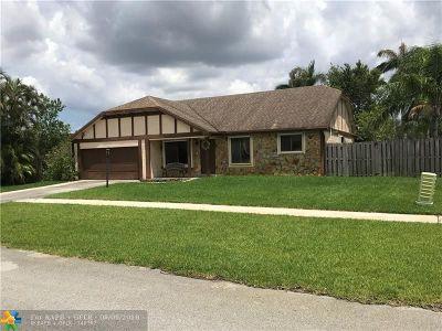 Sunrise Single Family Home For Sale: 15865 W Wind Cir