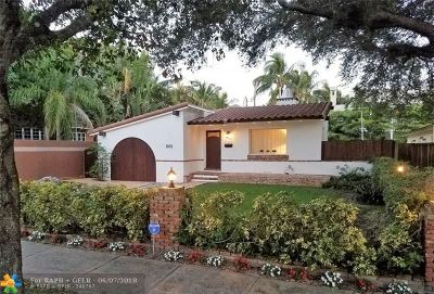 Fort Lauderdale Single Family Home For Sale: 1005 SE 7th St