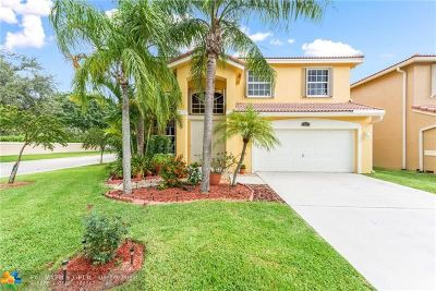 Coral Springs Single Family Home For Sale: 535 NW 115th Way