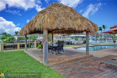 Pompano Beach FL Single Family Home For Sale: $610,000