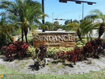 Davie Condo/Townhouse For Sale: 2926 S University Dr #6305