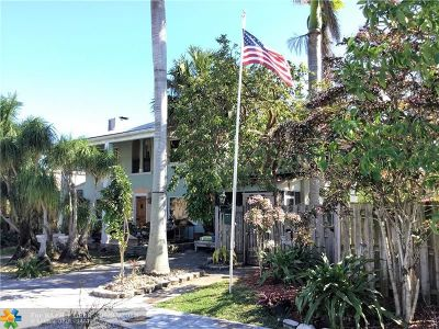 Wilton Manors Single Family Home For Sale: 114-124 NW 25th St