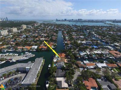 North Miami Single Family Home For Sale: 1965 Ixora Rd