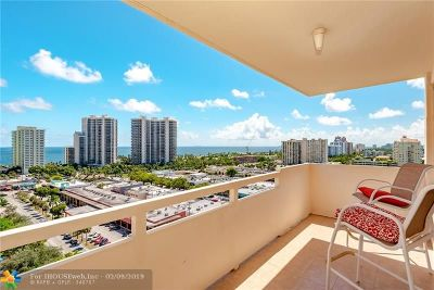 Fort Lauderdale Condo/Townhouse For Sale: 3233 NE 34th St #1615