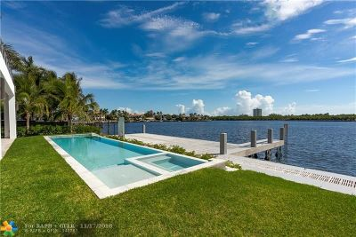 Fort Lauderdale Single Family Home For Sale: 1200 Seminole Dr