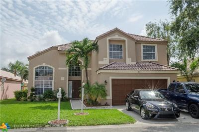 Coral Springs Single Family Home For Sale