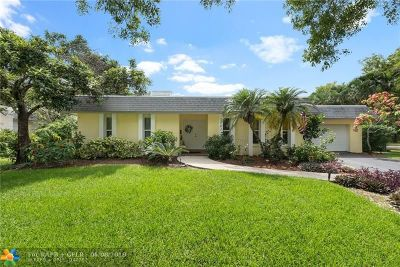 Plantation Single Family Home For Sale: 1101 SW 73rd Ave