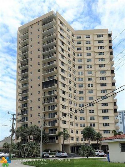 Pompano Beach Condo/Townhouse For Sale: 1200 Hibiscus Ave #1607