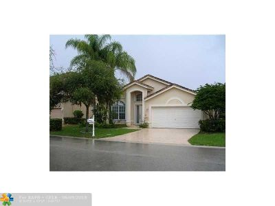 Coral Springs FL Single Family Home For Sale: $399,999