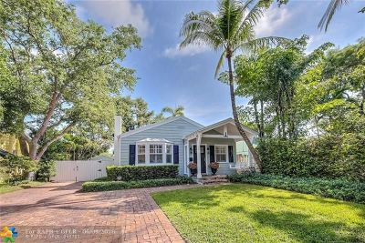 Fort Lauderdale Single Family Home Backup Contract-Call LA: 809 SE 7th St