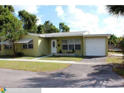 Hollywood Single Family Home For Sale: 3002 Arthur St