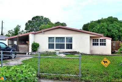 Lauderhill Single Family Home Backup Contract-Call LA: 3251 NW 18th Ct