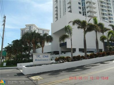 Pompano Beach Condo/Townhouse For Sale: 1360 S Ocean Blvd #2703