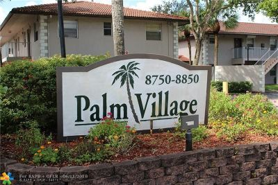Coral Springs Condo/Townhouse For Sale: 8840 E Royal Palm Blvd #201-7
