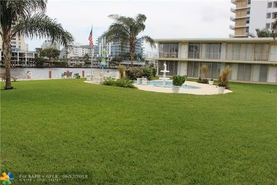 Fort Lauderdale Condo/Townhouse For Sale: 900 Intracoastal Dr #22