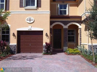 Doral Condo/Townhouse For Sale: 8778 NW 113th Ct #8778