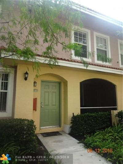 Coral Springs Condo/Townhouse Backup Contract-Call LA: 6406 W Sample Rd #6406