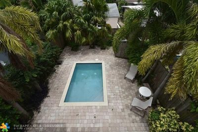 Fort Lauderdale Condo/Townhouse For Sale: 1114 NE 16th Ter #1114