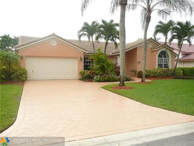 Coral Springs Single Family Home For Sale: 11824 NW 2nd Ct