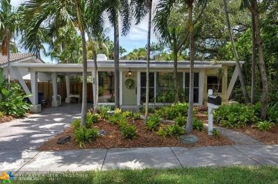 Fort Lauderdale Single Family Home For Sale: 1209 SE 11th Ct