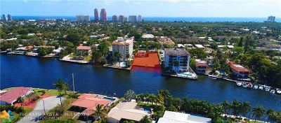 Fort Lauderdale Residential Lots & Land Backup Contract-Call LA: 1849 Middle River Dr