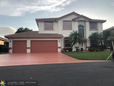 Coconut Creek Single Family Home For Sale: 5541 NW 38th Ter