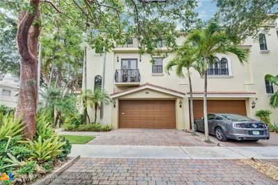 Fort Lauderdale Condo/Townhouse For Sale: 208 NE 13th Ave
