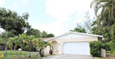 Plantation Single Family Home For Sale: 5221 SW 6th St