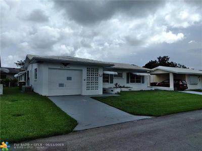 Tamarac Single Family Home For Sale: 4503 NW 47th Street