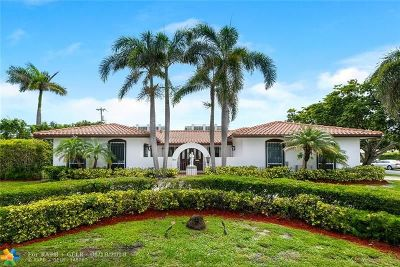 Boca Raton Single Family Home For Sale: 2840 Spanish River Rd