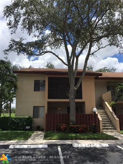 North Lauderdale Condo/Townhouse For Sale: 8031 Southgate Blvd #K7