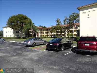 Pembroke Pines Condo/Townhouse For Sale: 151 SW 135th Ter #305T
