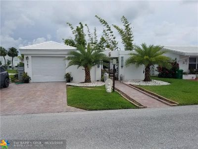 Pompano Beach Single Family Home For Sale: 161 NW 27th Ct