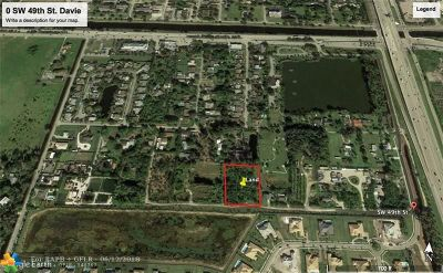 Davie Residential Lots & Land For Sale: SW 49th St