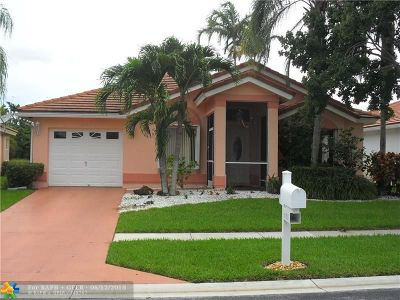 Lake Worth Single Family Home For Sale: 6150 S Harbour Greens Dr