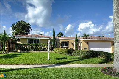 Fort Lauderdale Single Family Home For Sale: 5841 NE 14th Ter