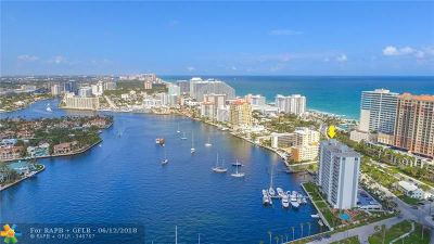 Fort Lauderdale Condo/Townhouse For Sale: 77 S Birch Rd #3D