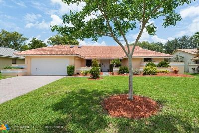 Coral Springs Single Family Home For Sale: 8755 NW 47th Dr